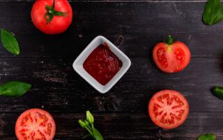 Ketchup casero con miel, receta saludable - El Colmenar de Valderromero